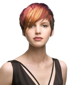 ladies-hairstyle-colour-cut-short new year