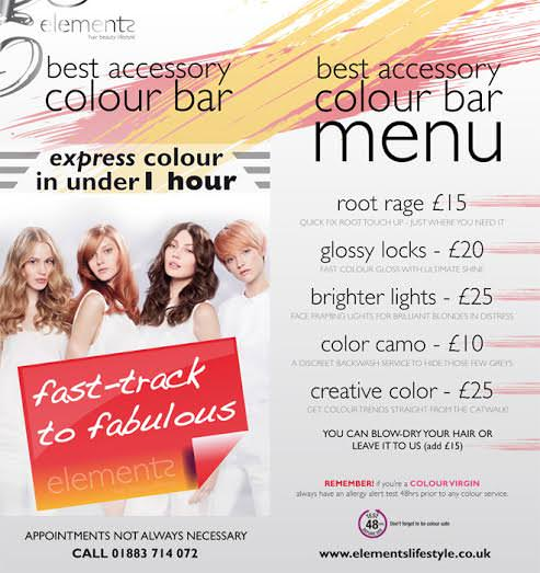 colour bar email