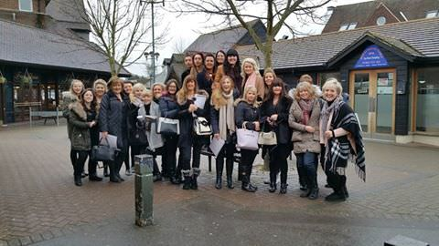 elements hair salon in oxted team building