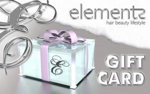 gift card, elements hair & beauty salon, Oxted, Surrey