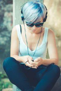 BLUE HAIR COLOUR trends, oxted hair salon