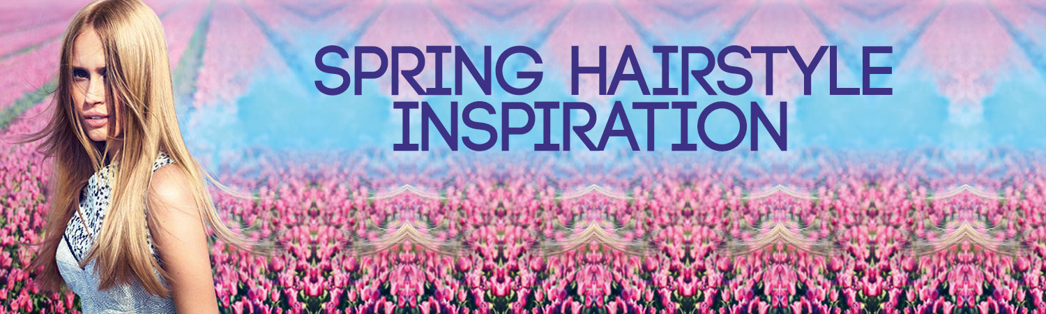 Beautiful Spring hair trends at Elements hair & beauty salon in Oxted, Surrey