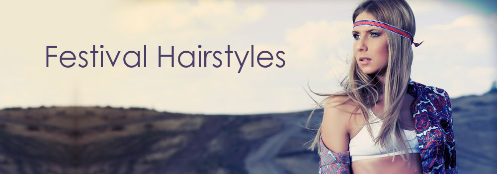 Festival-Hairstyles at elements hair & beauty salon in Oxted, Surrey