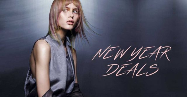 new-year-hairdressing deals at elements hair beauty salon in surrey