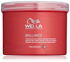 Wella Brilliance Mask  at elements hair salon oxted