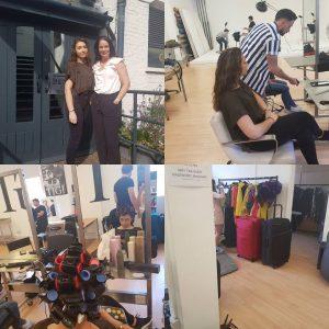 Artistic Director Joanne & Style designer Leyla Get Creative!