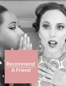 recommend-a-friend hairdressing offers at elements hair and beauty salon in oxted surrey