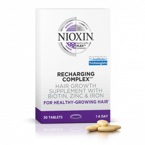 nioxin hair supplements at elements hair salon in Oxted