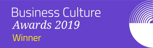 business culture award winners 2019 at elements hair and beauty salon in oxted