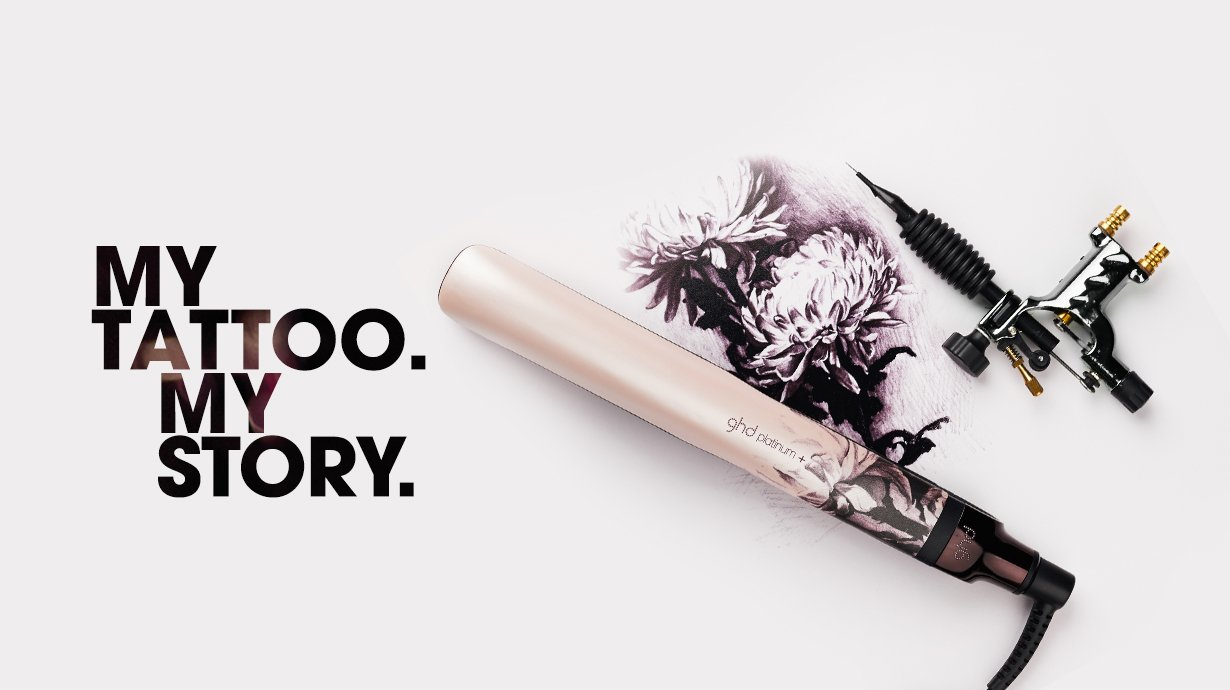 Support Breast Cancer Care With NEW ghd Ink on Pink Collection