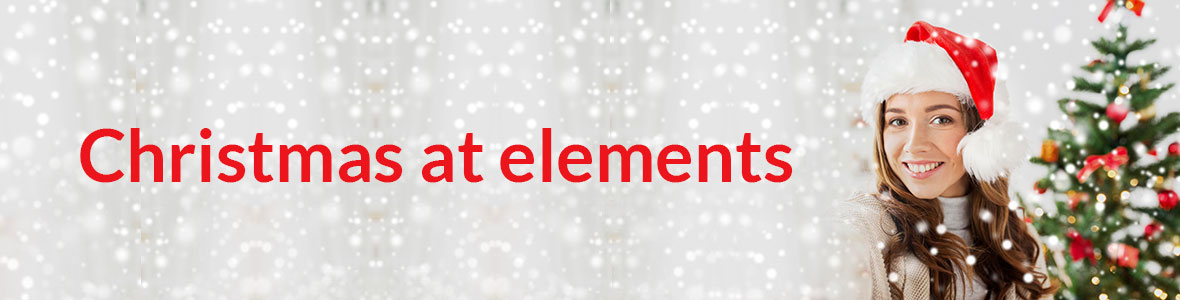 Christmas at elements hair and beauty salon in oxted surrey