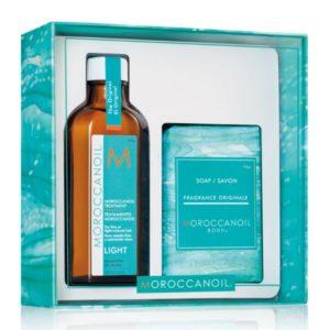 Moroccanoil Treatement - Light (with free soap)