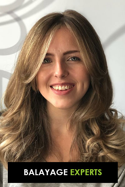 Balayage hair colour experts in Oxted, Surrey at elements hair salon.