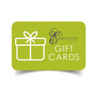 Gift Cards at elements hair salon in oxted