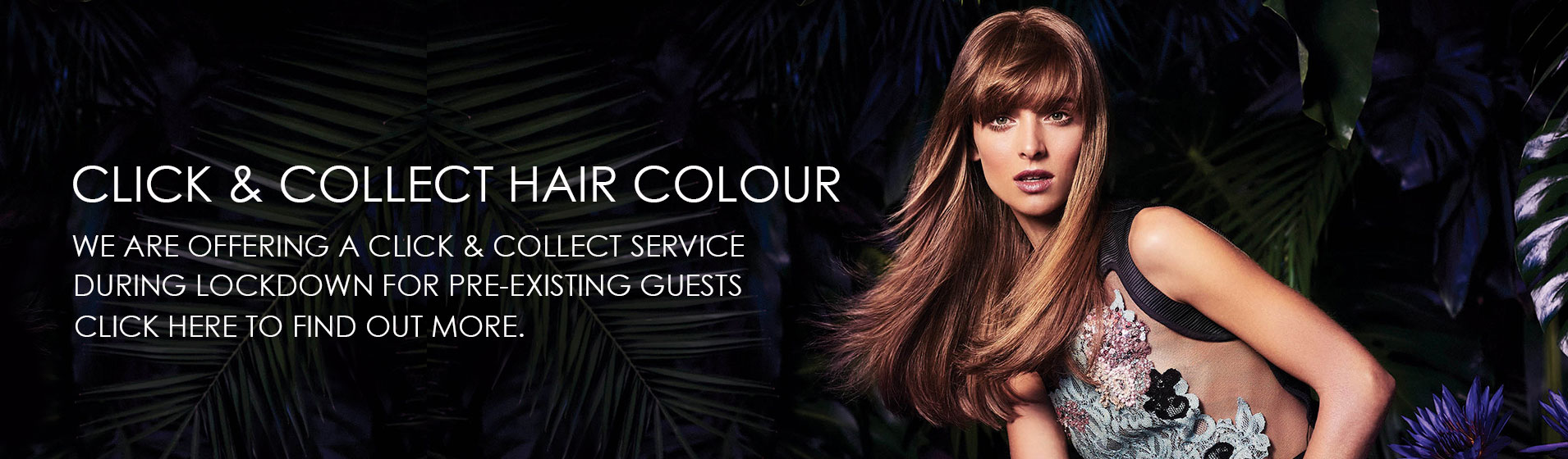 click and collect hair colour at elements hair salon in Oxted, Surrey