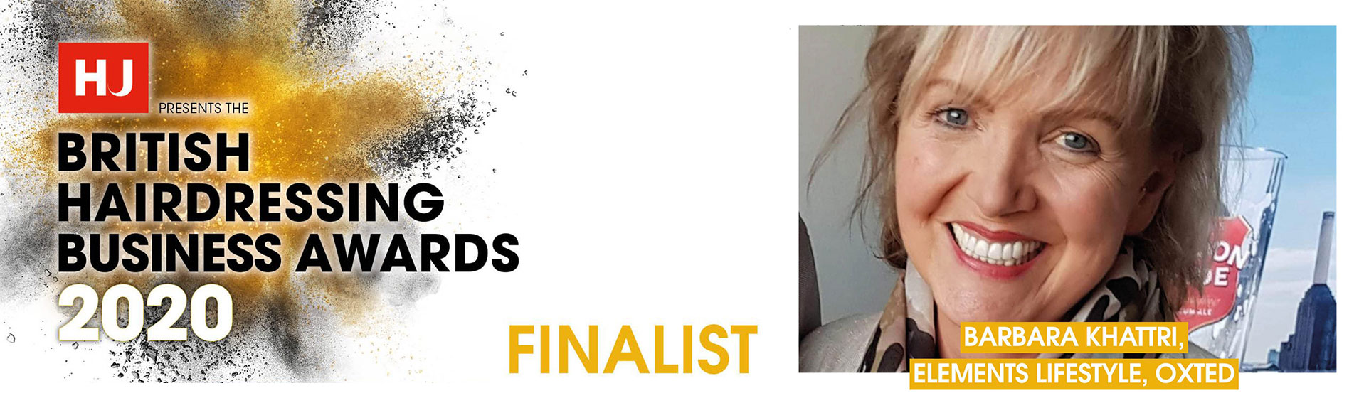 Oxted Salon Owner Barbara Makes Hairdressers Journal BHBA Finals!