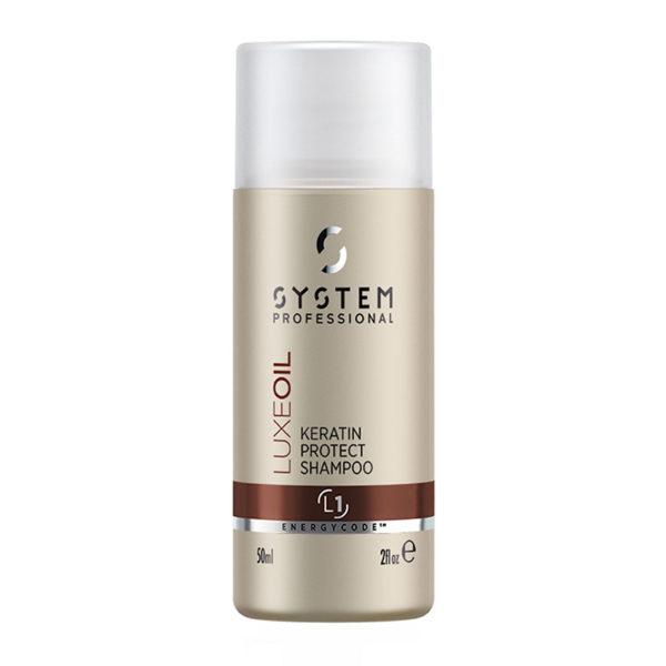 System Professional Luxeoil Keratin Protect Shampoo 50ml