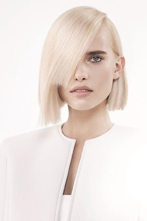Straight, Sleek Hairstyle Ideas at elements hair salon in Oxted
