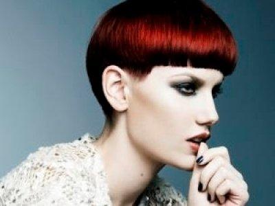 red autumn hair