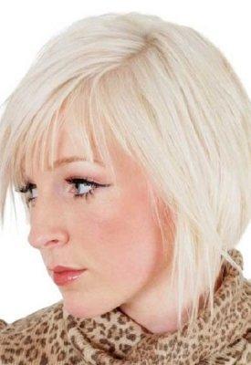 blonde-choppy-bob