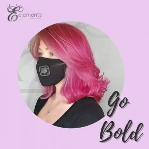 Bold hair colours at elements hairdressing, Oxted