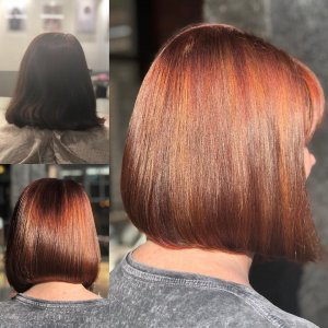Wella master colour expert at elements hair salon in Oxted, Surrey